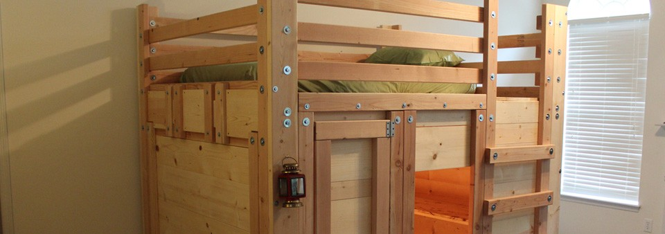 bunk bed with sofa underneath update