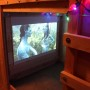 Micro Movie Room Under Queen Bed Fort