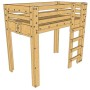Loft Bed - Twin - 300px wide