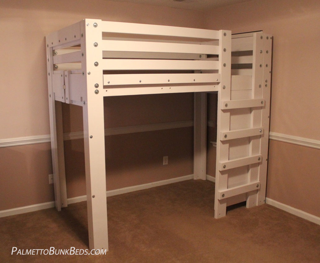 Twin Loft Bed.Twin Loft Bed Plan