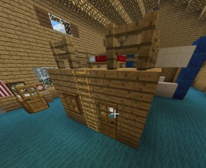Bed Fort In Minecraft